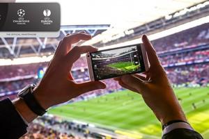 HTC rada futbola aplikāciju – mobilo pavadoni UEFA Čempionu līgai un UEFA Eiropas līgai